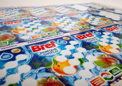 Bref – új (ragasztás előtt)